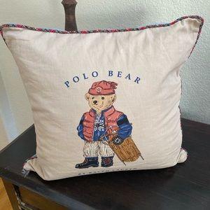 Ralph Lauren Vintage Bear Pillow Cover